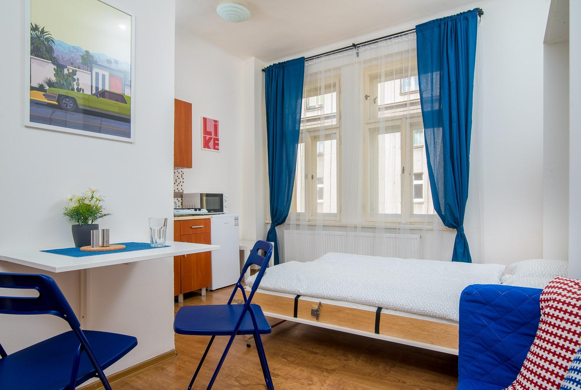 203 Sunny studio apartment for rent in Prague | EULIVIA ...