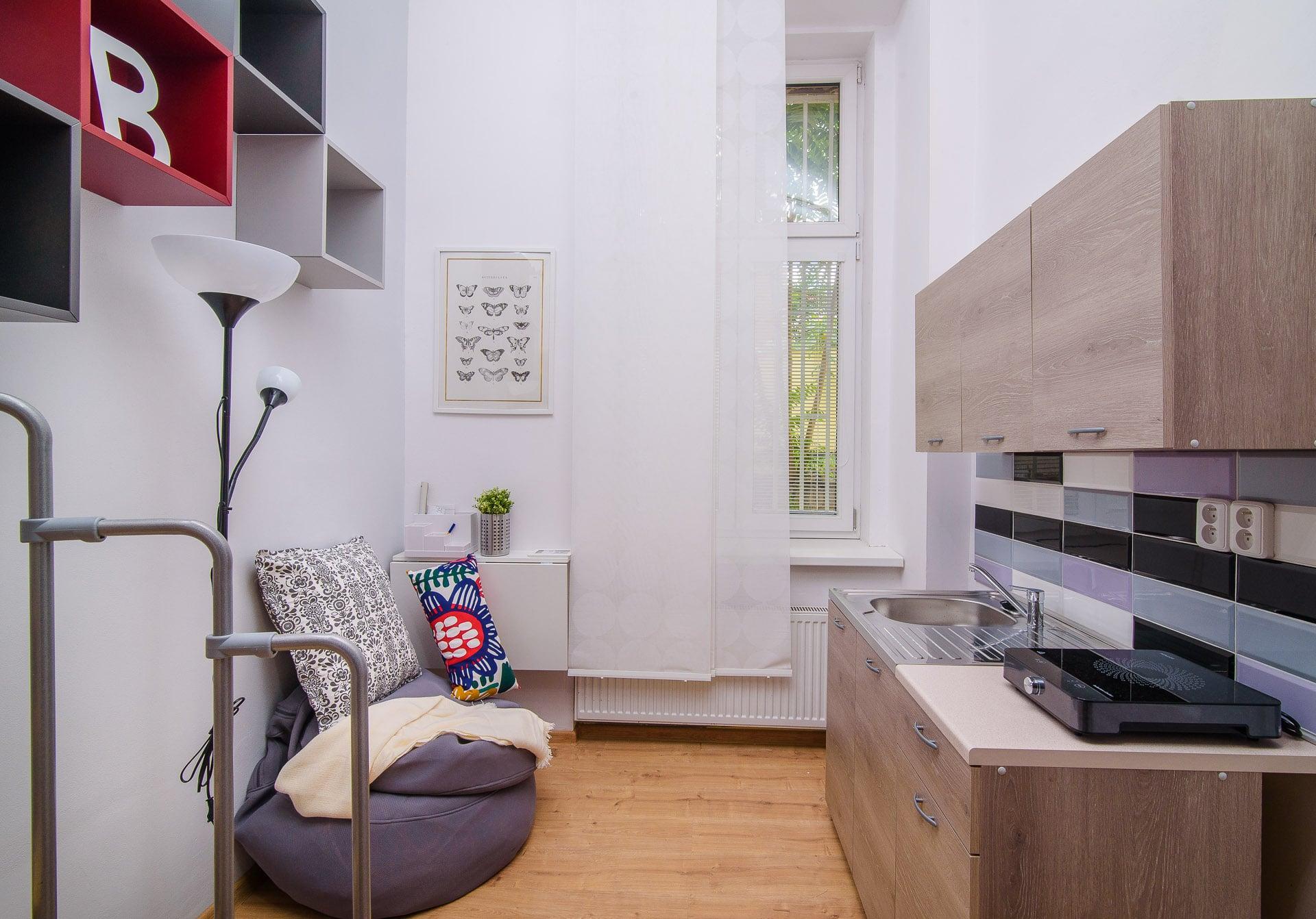 104 Loft Studio Apartment In Prague For Rent Eulivia Apartments